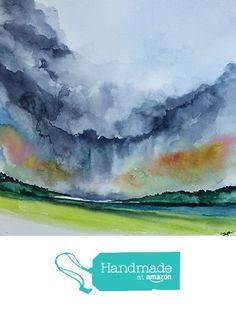 ORIGINAL painting watercolor painting WATERCOLOR Painting,watercolor landscape, Pinetreeart, WATERCOLOR, landscape original, painting from Maine ARTist http://www.amazon.com/dp/B01GF190B2/ref=hnd_sw_r_pi_dp_DxHtxb0PWGCJF #handmadeatamazon