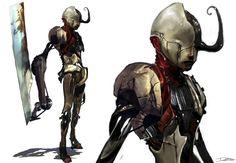 DMC - Devil May Cry: nuovi artwork realtivi ai nemici del nuovo Dante Character Concept, Character Art, Concept Art, Character Design, Game Concept, Devil May Cry, Monster Characters, Fantasy Characters, Steampunk