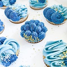 Buttercream Cupcakes, Vanilla Cupcakes, Frosting, Baby Cupcake, Cupcake Cakes, Beautiful Cakes, Amazing Cakes, Fathers Day Cupcakes, City Cake