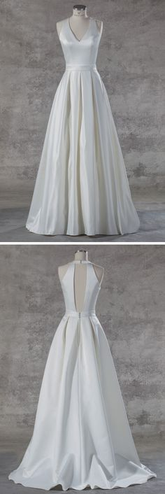1000+ images about Brautkleid Schlicht on Pinterest  Satin, Empire ...