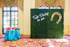 Kentucky Derby Watch Party: Koncept Events designed a Kentucky Derby watch party for a private clien Kentucy Derby, Mini Derby, Palm Beach, Greenery, Pose, Florida, Watch, Image, Photos
