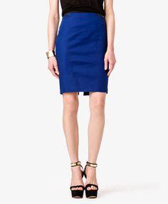 F21 - Striped Waist Pencil Skirt  $17.80