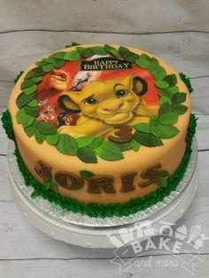 Lion King verjaardagstaart, birthday cake