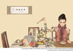 中國24孝為概念的攝影作品