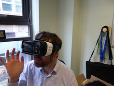 Over the years, the screen has marched from across the living room, today  stopping just short of the eyeballs. Yes, virtual reality is finally  available in the home, via the method of strapping your smartphone to your  face. You look a bit silly, but is what you see any good? This is the  Samsung Gear VR.