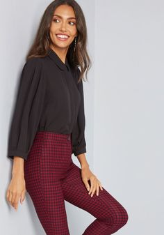 0db18eed999 Evident Refinement Button-Up Top in 1X - Cap Fitted Short Length by ModCloth  Professional