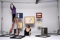 Unique Artistic Sound Frames from Rebaroque - http://freshome.com/2010/10/17/unique-artistic-sound-frames-from-rebaroque/