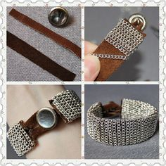 Chain Wrap Bracelet – DIY Tutorial