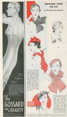 1930s hats