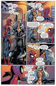 Spiderman Black Cat, Spiderman Girl, Black Cat Marvel, Marvel And Dc Superheroes, Marvel Women, Marvel Vs, Marvel Comics, Dc Comics Girls, Mark Bagley