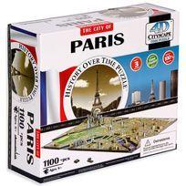 Miasta 4D, Paryż, puzzle, 1100 elementów-Panon Limited