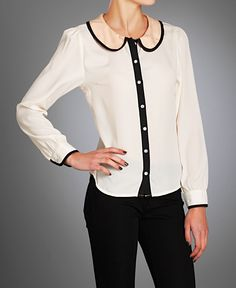 I really, really like this blouse.