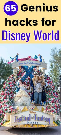 65 Great Walt Disney World Vacation Hacks (July Walt Disney World vacation planning tips & tricks -- 65 Secrets and hacks to make you vacation easier and save money. Includes Disney line hacks, a secret about the Main Street Disney World shops, and Disney On A Budget, Disney World Vacation Planning, Walt Disney World Vacations, Disney Planning, Disney Trips, Disney Parks, Disney Travel, Vacation Ideas, Trip Planning