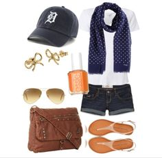 Detroit Tigers Game Day Apparel