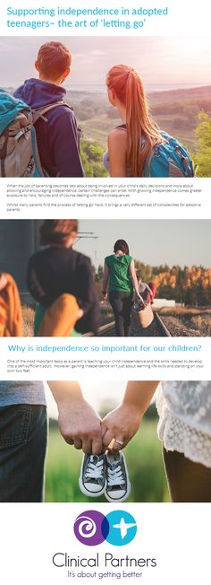 With growing independence in adopted teenagers comes greater exposure to risks, failures and of course dealing with the consequences. Art Of Letting Go, Adoptive Parents, Adopting A Child, Happy Relationships, Adolescence, Parenting Advice, Adoption, Challenges, Let It Be