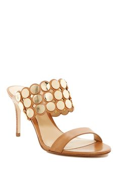 a577e96a14d692 Jemima Scalloped Stiletto Sandal by VC SIGNATURE on  nordstrom rack  Metallische High Heels