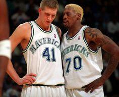 Dirk Nowitzki & Dennis Rodman (99-00)