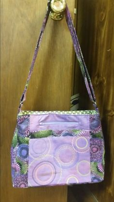 Sewing machine circle purse