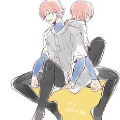 Ryosuke and Haruichi ❤️ Kawaii, Diamond No Ace, Baseball Anime, Onii San, Miyuki Kazuya, Kurotsuki, Drawing Reference, Anime Love, Geek Stuff