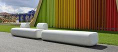 SIT Bench by Diego Fortunato #design #urbanfurniture