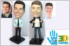 personalized bobble head (great for a campaign of some sort) (or a white elephant gift)