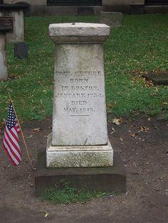 Grave Marker- Paul Revere