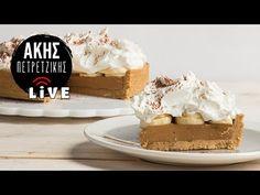Σπιτικό Banoffee | LIVE | Άκης Πετρετζίκης - YouTube Tiramisu, Ethnic Recipes, Desserts, Food, Youtube, Tailgate Desserts, Deserts, Essen, Postres