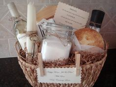 Traditional House Warming Gift basket by House of Hubbard