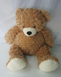 "Circo Teddy Bear Toy Jumbo Brown White Floppy Super Soft Plush Animal 32"" #SeeDescription"