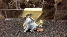 Winnie The Pooh Figurines, Pooh Bear, Eeyore, Vintage Home Decor, Cool Things To Buy, Alphabet, Dinosaur Stuffed Animal, Etsy Shop, Lettering