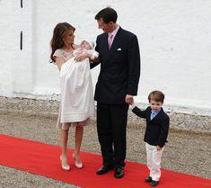 Danish princess baptized: Athena Marguerite