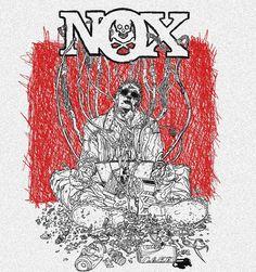 Estampa camiseta Banda NOX