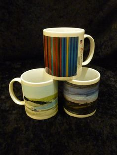 Mugs featuring some works from our permanent collection