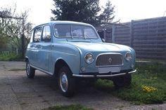 Pour ce mardi, une Renault 4 comme j'aimerais en avoir une dans mon garage ;)