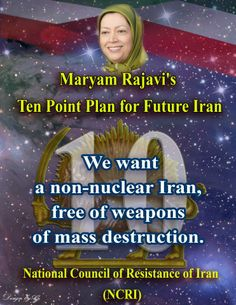 In a meeting at the Council of Europe in April 2006, Maryam Rajavi, President-elect of the Iranian Resistance, elaborated on the movement's vision for a future Iran