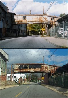 During the 1990s, the area was dominated by old run-down houses, trash strewn vacant lots and abandoned warehouses...