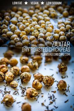 Za'atar dry roasted chickpeas