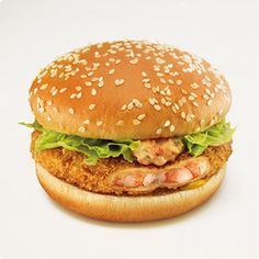 Ebi Filet-O — McDonald's, Japan | 17 Unusual Fast-Food Items From Around The World