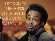 Chris Rock - 12 Comedian Quotes to Help You Laugh Through Relationship Hiccups. Hollywood Street, Comedian Quotes, Rock Quotes, Dave Chappelle, All Jokes, Men Lie, Chris Rock, The Brethren, Uplifting Quotes
