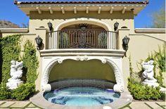 Mediterranean Pool By Scottsdale General Contractors Integrity Luxury