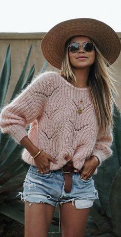 Blush Baby Blush. • Sweater @sezane