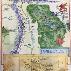 Mappe Fantasy, mappe fantastiche - Libri Calzelunghe