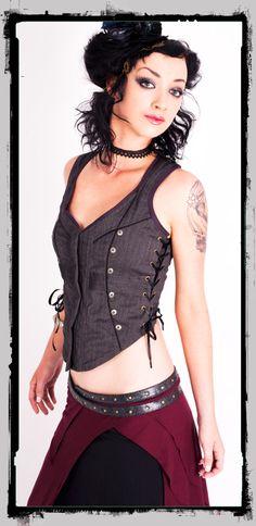 Steamy siren corset