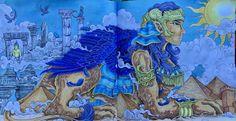 Imagimorphia castles my animorphia and imagimorphia and - Colorazione pagine pinguini ...