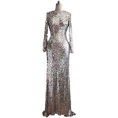 Women's Fashion Bridesmaid Slim Noble Dress - USD $ 122.99