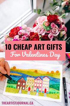 A Gift Guide for Artists: Top 10 Gifts For You or The Crafter You Love Selling Art Online, Online Art, 3d Drawing Pen, Watercolor Brush Pen, Cheap Art, Coloring Books, Colouring, Manga Comics, Diy Cleaning Products