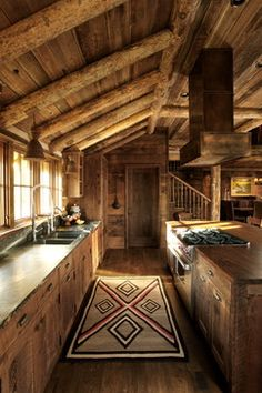A family lodge set in a secluded location surrounded by forest service in Montana. Because of the location, this home is completely off the grid utilizing solar array panels for power.