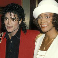Whitney and Michael. Icons.   #RIPWhitneyHouston