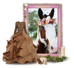 """Horse"" by lipservicebymel ❤ liked on Polyvore featuring Jay Strongwater, Improvements, Cultural Intrigue, Stephane Rolland, Judith Leiber, Sergio Rossi, Humble Chic and Ellen Conde"