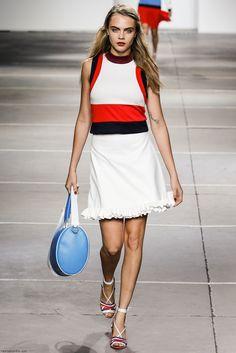 Cara Delevingne for Topshop Unique spring/summer 2015 collection - London fashion week